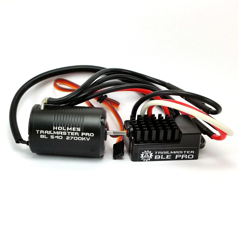 Holmes Hobbies BLE Pro ESC & TrailMaster Pro BL 540 Motor Combo