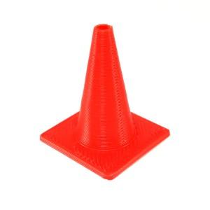 Scale Rubber Road Cones