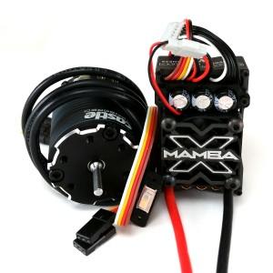 Castle Creations Mamba X ESC & Sensored 1406 Slate Motor