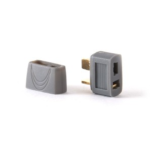 Covered Deans Style T Plug - Female