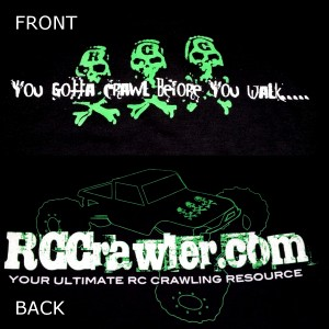 RCCrawler.com Pullover Hoodie - Dark Green