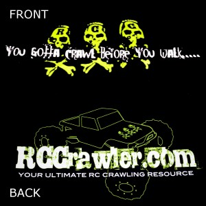 RCCrawler.com Pullover Hoodie - Lime Green
