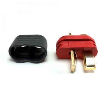 Covered Deans Style T Plug - Male