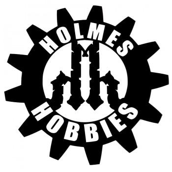 "Holmes 10x10"" Bumper Sticker"